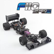 Фирменная Новинка Serpent F110 SF 2 Wide F1 карбоновая рама комплект губок шин Sp 410064 без электрических деталей и шин