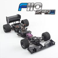 Brand New Serpent F110 SF 2 Wide F1 Carbon Firber Frame Kit Sponge Tire Sp 410064