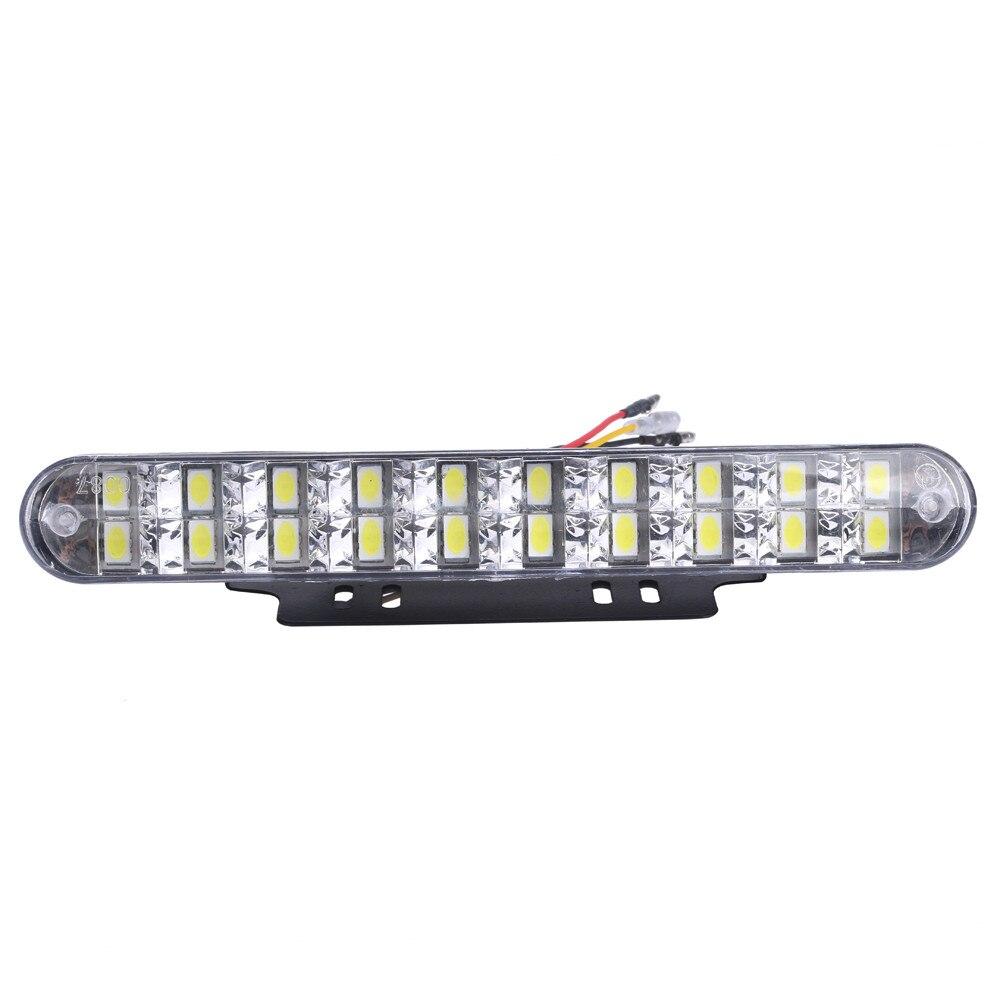 kongyide Healight Bulbs 2PCS 2x 30 LED Car Daytime Running Light DRL Daylight Lamp with Turn Lights NOV10