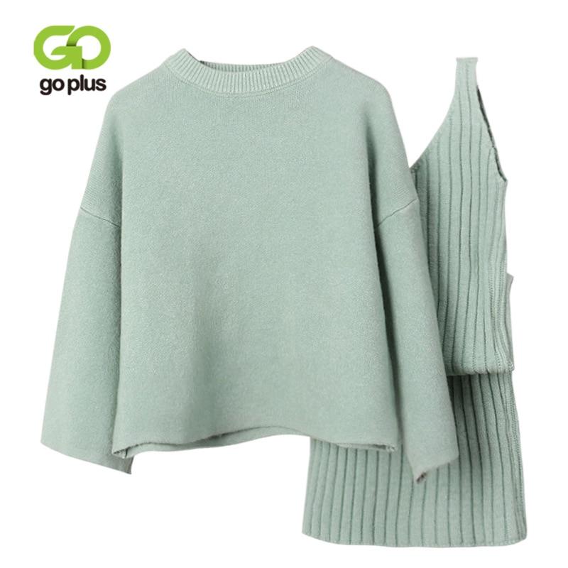 Hot Sale Goplus Women Sweater Dress Set Two Pieces Suit Autumn