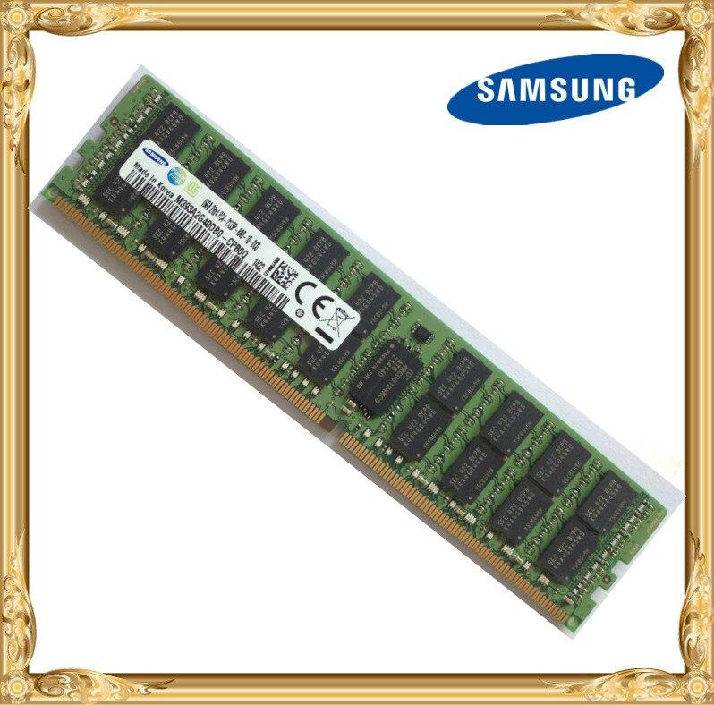 Samsung Serveur mémoire 16 GB DDR 2Rx4 REG ECC RAM 2133 MHz PC4-2133P Enregistré
