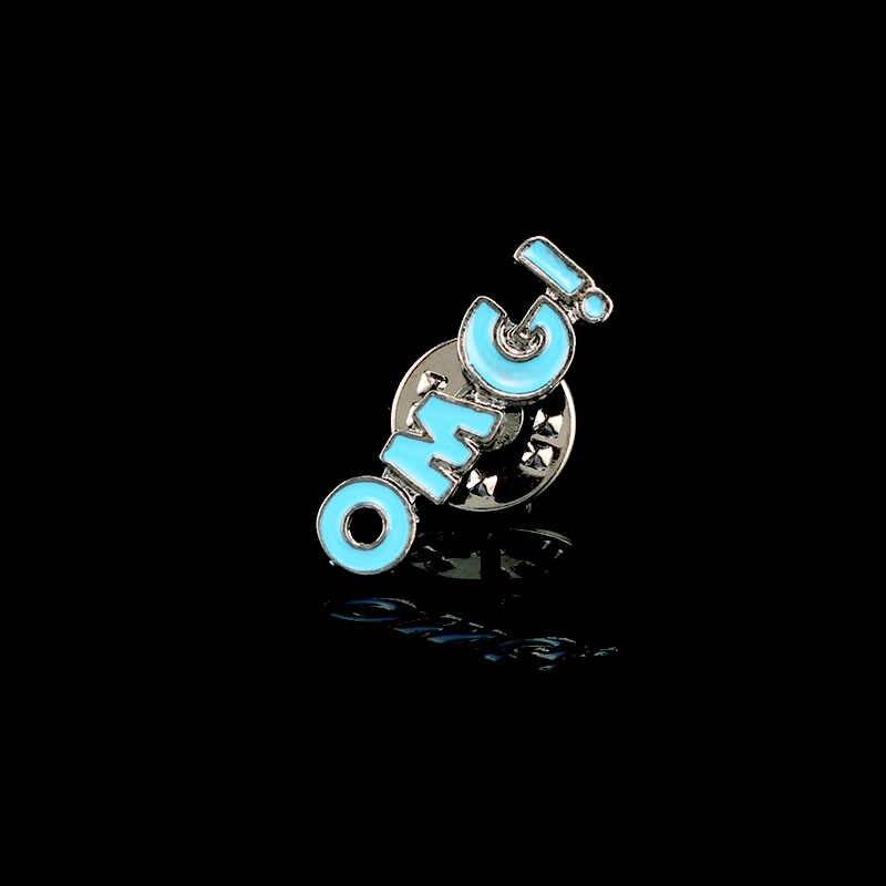 Shshd Bottiglia di Vino Sigaretta Spilla Labbra Sexy Delle Donne Spille k Dello Smalto Spilli Signore Maglione Giubbotti Collare Spille Distintivo per Zaino gioielli