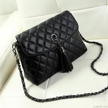 New Style Retro Minimalist Crossbody Bag Fashion Small font b Women b font Shoulder Bag Tassel