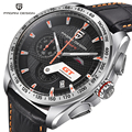 Pagani Design Luxury Brand Fashion Motor Sport Diving Watches Men Stainless Steel  Multifunction Quartz Watch relogio masculino