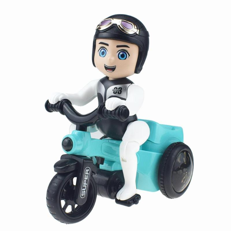 Creative Children Electric Tricycle Toy Music Lighting Motorcycle  Educational Toys Flashing Sounding Car