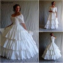 Средневековое эдвардианское элегантное белое сексуальное готическое викторианское платье усадьба с оборками бальное платье костюм театральное сценическое платье