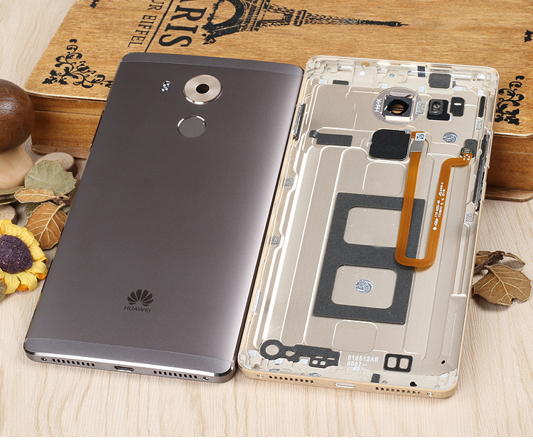 for Huawei mate 8 Official original Housing Replacement Parts Metal back Battery Cover Phone case for