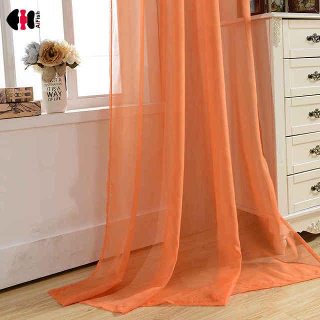 Orange Living Room Curtains | Best Home Decorating Ideas