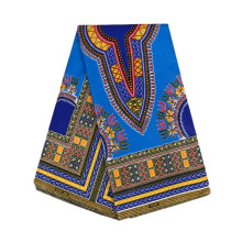 2019 New African National clothing fabric geometric printed garment Fabric Factory Direct Supply  cotton