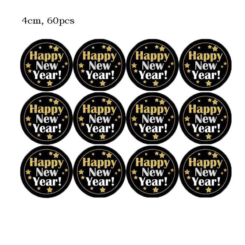 2020 Tahun Baru Photo Booth Alat Peraga Pesta Natal Dekorasi Bingkai Foto Selamat Tahun Baru Kotak Hadiah Label Stiker Natal supply