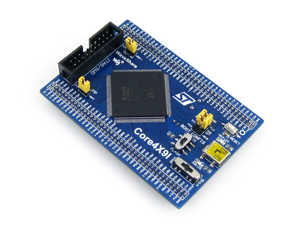 Modules 5pcs/lot STM32 Core Board Core429I STM32F429IGT6 STM32F429 ARM Cortex M4 Evaluation Development with Full IOs Free Shipp купить