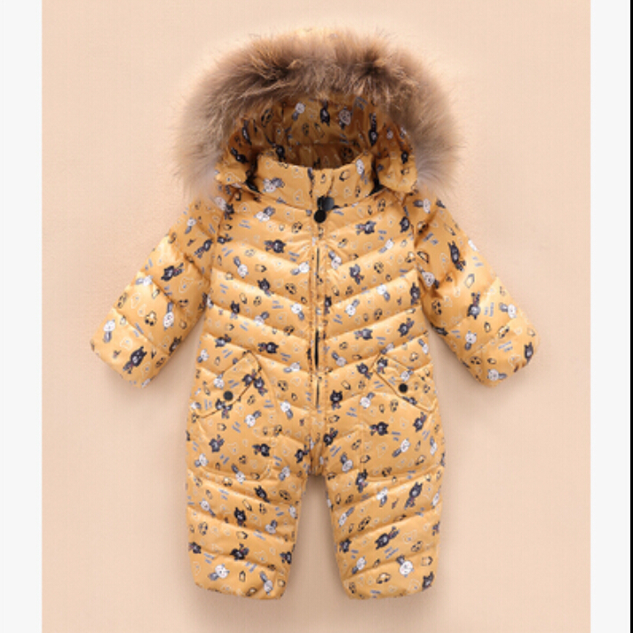 High-quality-2017-New-brand-winter-outerwear-baby-rompers-duck-down-coat-for-newborn-snowsuit-infant-costume-big-nature-fur-2