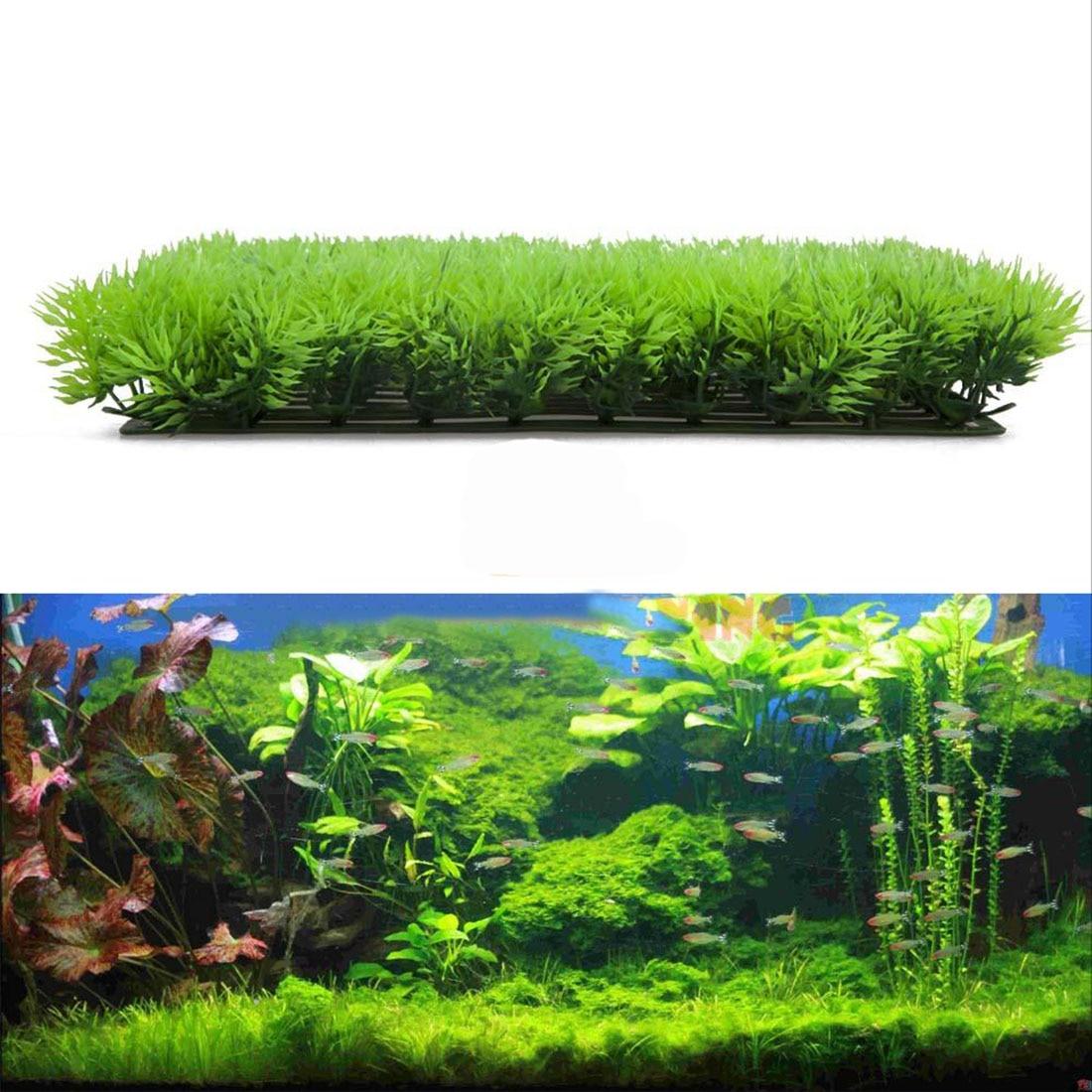 New Arrival Artificial Plastic Lawn Water Aquatic Grass Plant Fish Tank Landscape Underwater Beautiful Water Plant Ornament