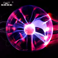 3 inch Magic Plasma Ball Electrostatic Sphere Light kids room Party decor Table night light Crystal Luminaria Touch Control