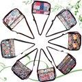 2016 Женская Мода Небольшой Водонепроницаемый легкий Нейлон Мультфильм Цветочные Crossbody Посланник сумки