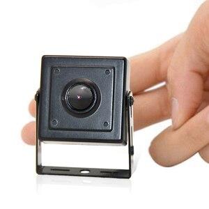 Image 4 - Wheezan מיני HD מצלמה אבטחת 2MP Onvif H.265 סגור POE 12V 1080P אודיו P2P ראיית לילה בית מצלמות מעקב