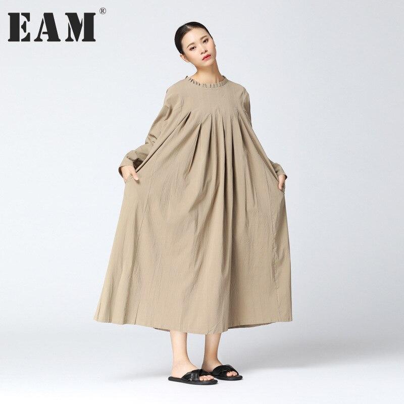 Длинные платья в цвет хаки