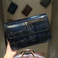 TERSE_Luxury clutch bag leather handmade wrist bag top genuine leather document clutch bag for man 4 colors in stock custom