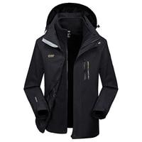 AFS JEEP Thermal Windproof Waterproof 's Parka Fleece Liner Detachable Winter Male Jacket Thick Warm Hooded Windbreaker