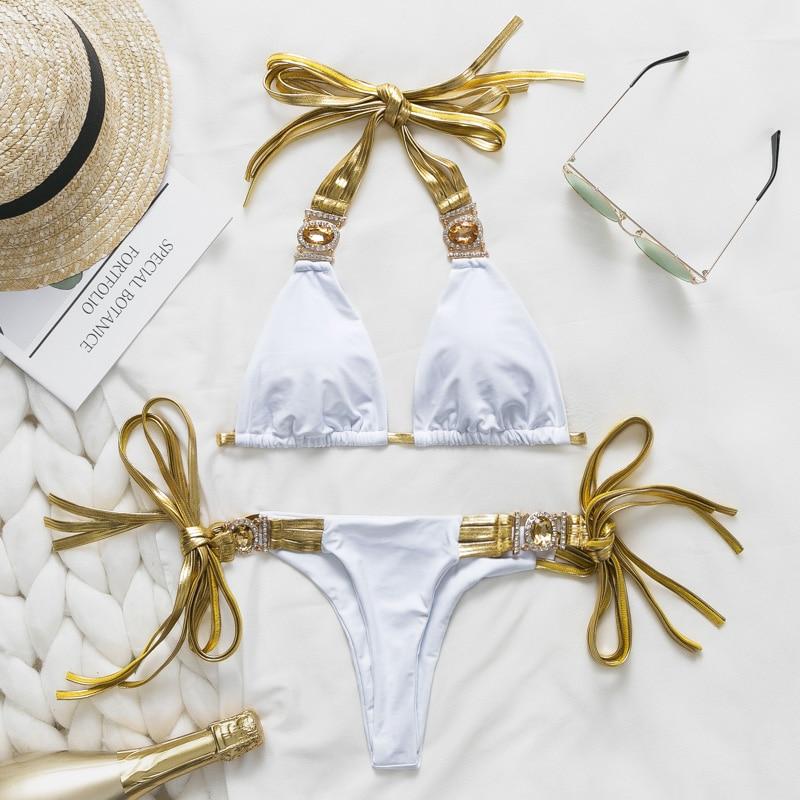 HTB1Nbt8e.GF3KVjSZFvq6z nXXa7 Bikinx Snake print bikinis 2019 mujer bathing suit Triangle sexy female swimsuit Push up swimwear women bathers Micro bikini new