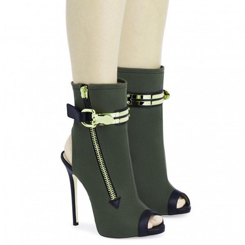 Toe Verde Fsj01 Pompe Camoscio Fsj Delle Formato Peep Donna Shoes41 Autunno Signore Scuro Slingback Grande Scarpe Molla 2108 Della A Spillo 42 Di 43 In wzzfCq