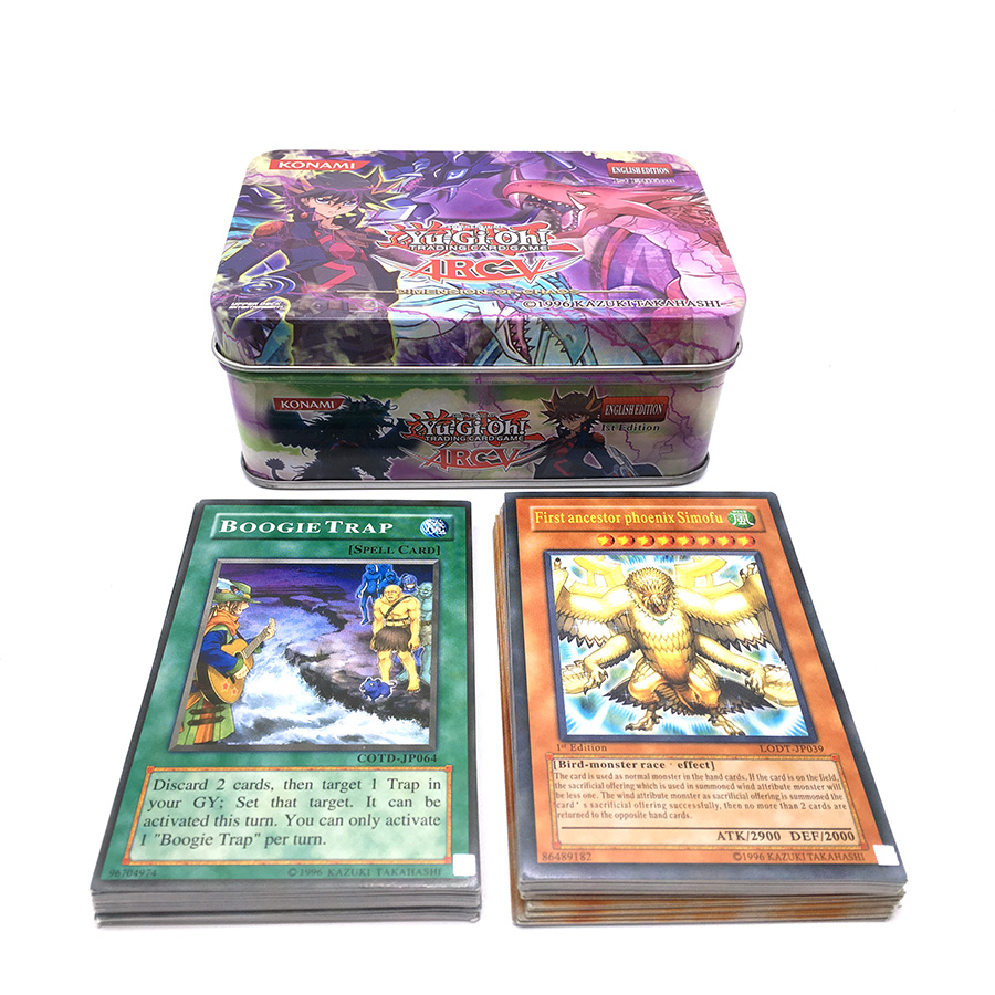 40PCS Yu Gi Oh Rare Flash Cards Yu Gi Oh Game Paper Cards Kids Toys Girl Boy Collection Yu-Gi-Oh Cards Christmas Gift With Box