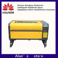 לייזר 100 w 6090 מכונת חריטת לייזר co2 לייזר חריטת מכונת 220 v/110 v לייזר קאטר מכונת diy CNC חריטת מכונת