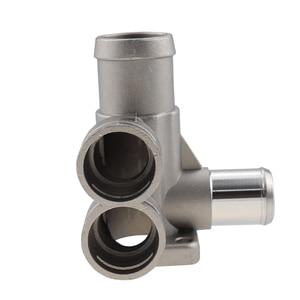 Image 5 - אלומיניום סגסוגת קירור נוזל קירור צינור צינור מחבר Fit עבור פולקסווגן פאסאט B3 גולף שרן פולו אאודי 80 100 c45 a6c4 מנוע AVK.