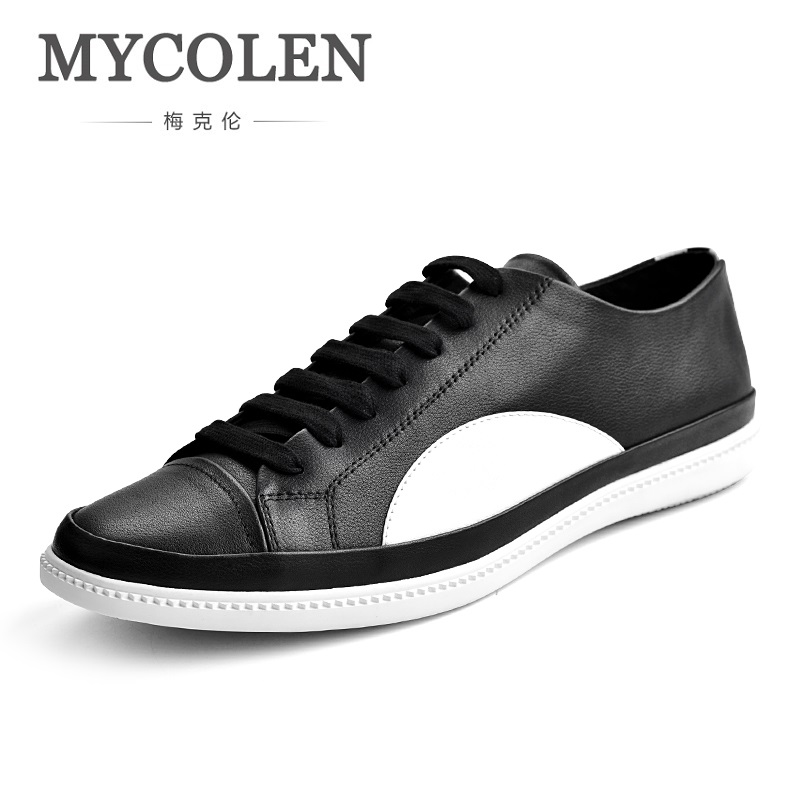 MYCOLEN 2018 Spring/Autumn New Fashion Skate Shoes Men Comfortable Classic Casual Shoes Low Breathable Falt Canvas Shoes micro micro 2017 men casual shoes comfortable spring fashion breathable white shoes swallow pattern microfiber shoe yj a081