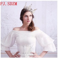 Bridal Vintage Baroque Crystal Crown Woman Luxury Rhinestone Hair Accessory Gift For Girlfriend Party Queen Headbands