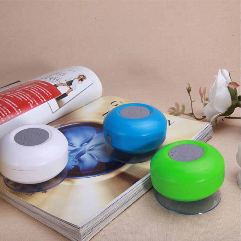 HIFI Waterproof Mini Bluetooth רמקול נייד סאב מקלחת soundbar מוסיקת bluetooth אודיו מקלט שיחת רמקולים אלחוטיים