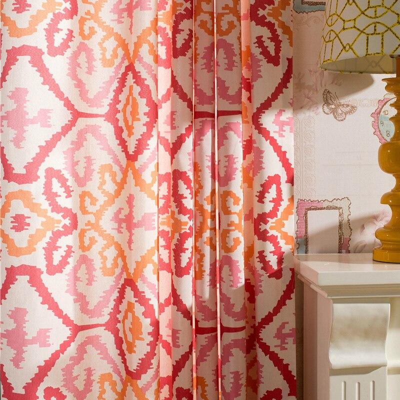 online get cheap red kitchen curtains for door -aliexpress.com ... - Tende Per Soggiorno Etnico