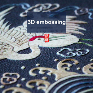 Image 3 - Aixuan Deri Xiao mi mi 9 telefon kılıfı 3D KABARTMA Desenli Deri Silikon arka kapak kılıfları için xiaomi mi mi 9 mi 9 SE Çapa