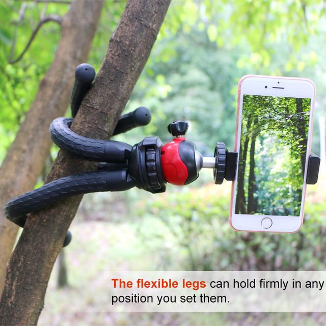 Flexible Octopus SmartPhone Tripod