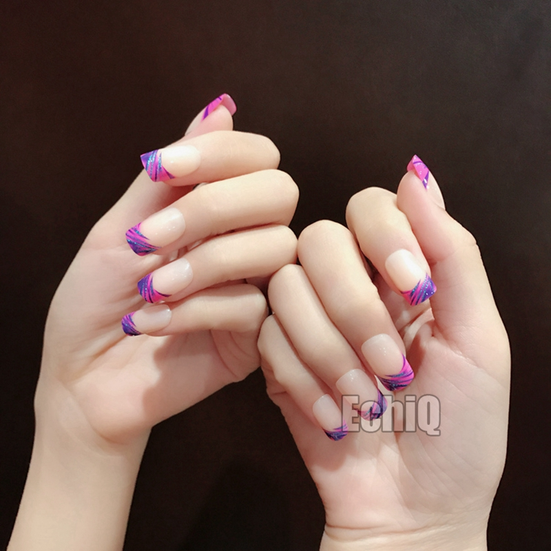 Old Fashioned French Nail Tips Short Ideas - Nail Paint Design Ideas ...