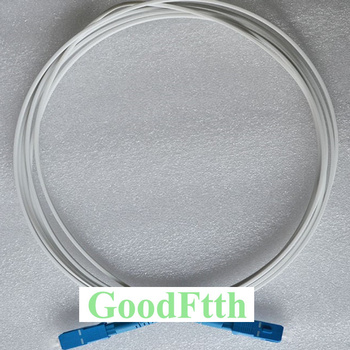 Drop Cable Patch Cord SC-SC UPC SM G657a White LSZH 3X2mm 1 core GoodFtth  20-50m sommer cable sc goblin white