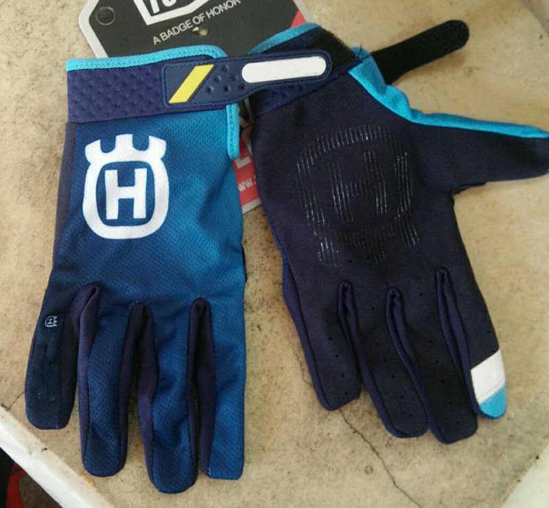 Pour Husqvarna Husky Style 2019 hommes Motocross costume motomotard course Jersey pantalon moto MX équitation combinaison avec gant J