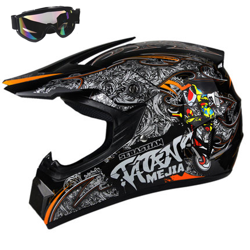 AHP ABS Motobiker Helmet Classic bicycle MTB DH Racing Kids Helmet Motocross Downhill Children Bike Helmet