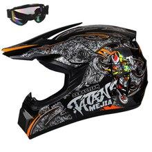 AHP ABS Motobiker шлем классический Велосипедный спорт MTB DH гонки дети Мотокросс горные велосипедный шлем для детей Малый Размер S/M/L/XL
