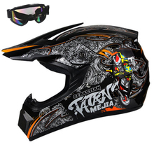 Top ABS Motobiker Helmet Classic bicycle MTB DH Racing Kids Helmet Motocross Downhill Children Bike Helmet Small Size M/L/XL