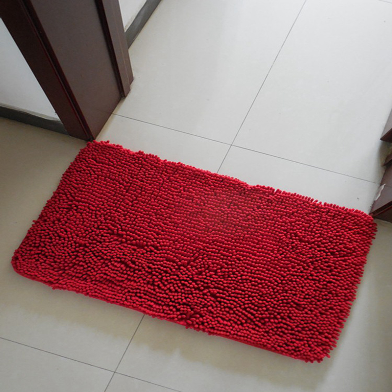 EHOMEBUY Solid Color Carpet Sold By 1 Piece Stair Tread Mats Self Adhesive Non Slip Carpet Red Soft Comfortable Rectangle