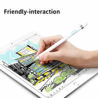 WIWU táctil lápiz para iPad 2018 Stylus Pen Compatible con Android y IOS pantalla capacitiva tableta táctil pluma para iPad Pro