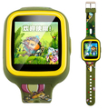"""1.33 """" полный 2.5D Q5 GPS смарт-мобильный часы Kid часы MTK6261 анти-потерянный smartWatch малыш SOS аварийной ситуации с смартфонов приложение для Android / iOS"""