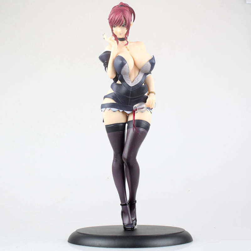 32 cm Anime Sexy Marie Mamiya Starless Sexy Girl Cast Off Big Breasted PVC Action Figure Model Collection Toy Christmas Gift все цены