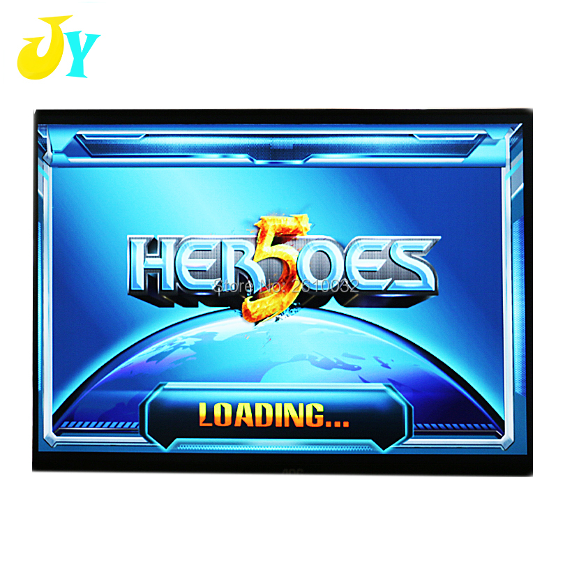 "Heroes 5 Arcade 2020 in 1 Games 10.4"" LCD Mini Table Top Acrylic Cabinet arcade machine Games Arcade Console"