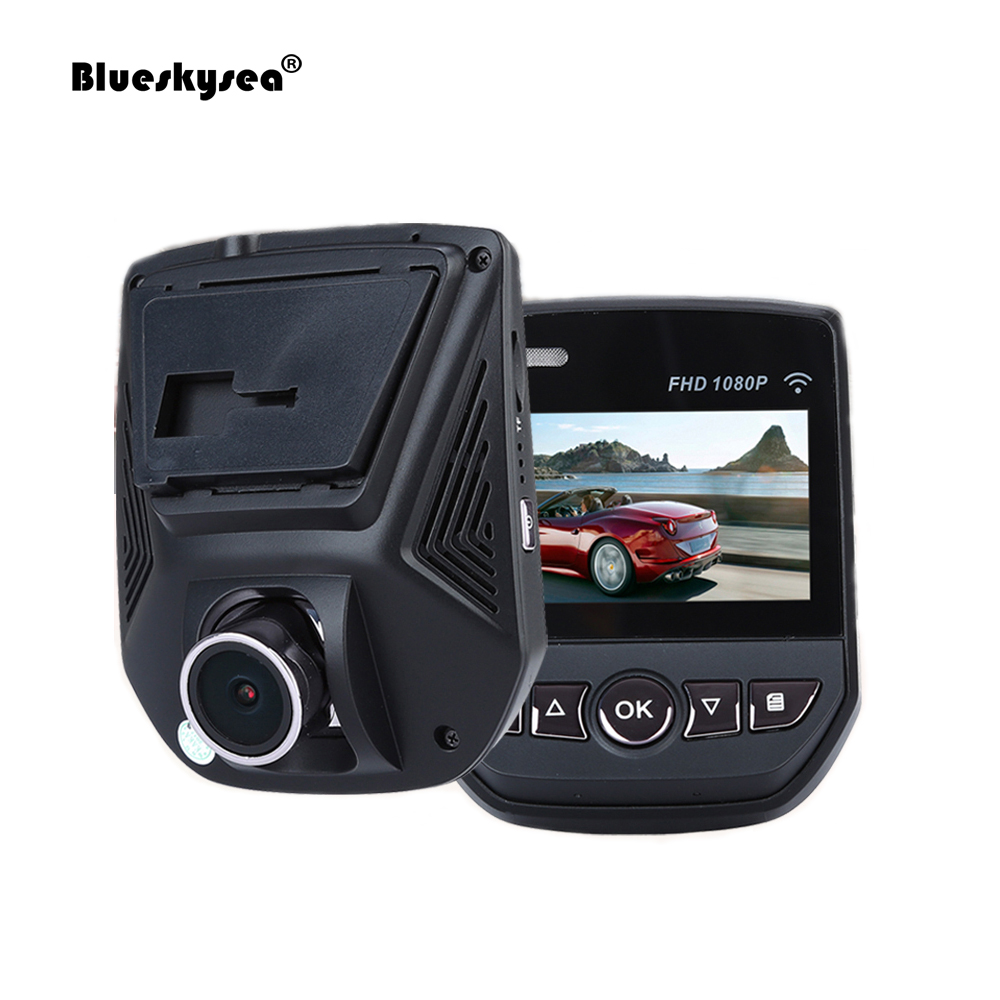 Blueskysea HD 1080P A305 WiFi Car DVR Recorder G-sensor 2.45 LCD Loop Recording Dash Camera Night Vision Security Park Monitor proximity sensor et 305 et 305