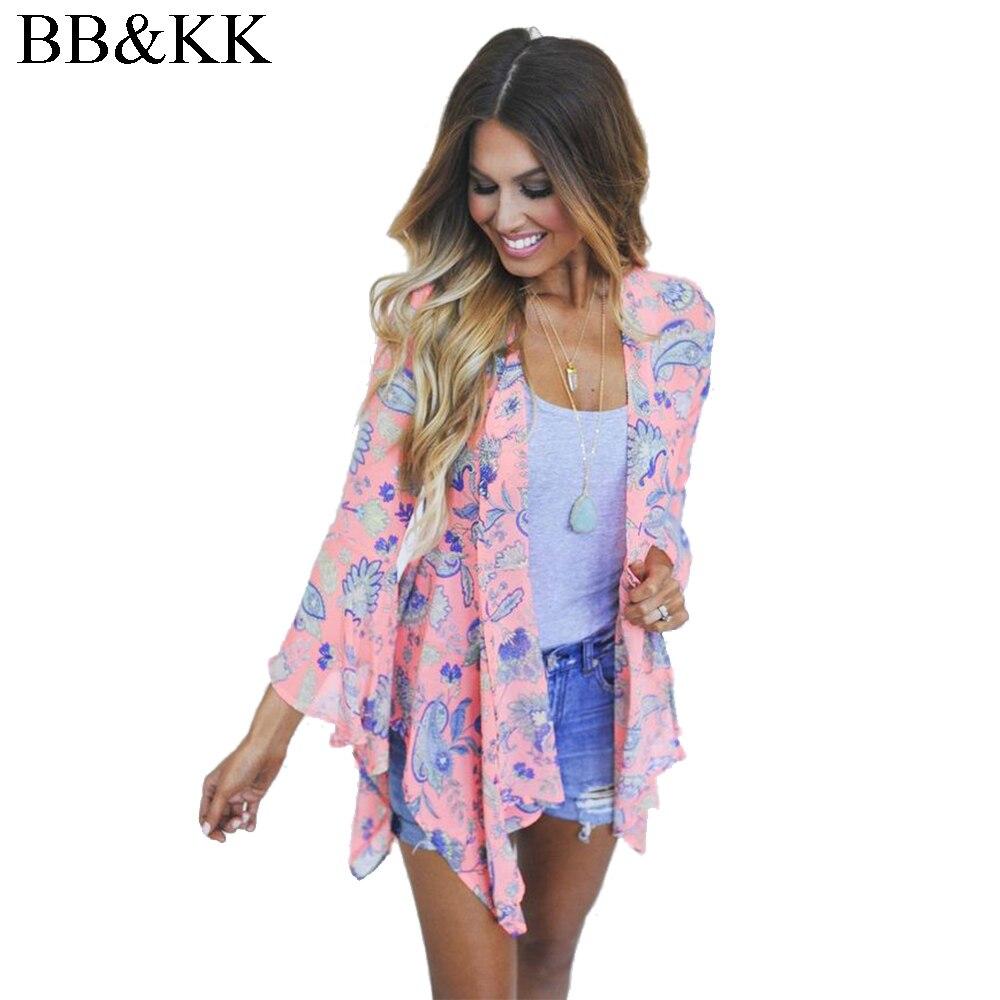 Aliexpress.com : Buy Women Vintage Chiffon Blouse Floral