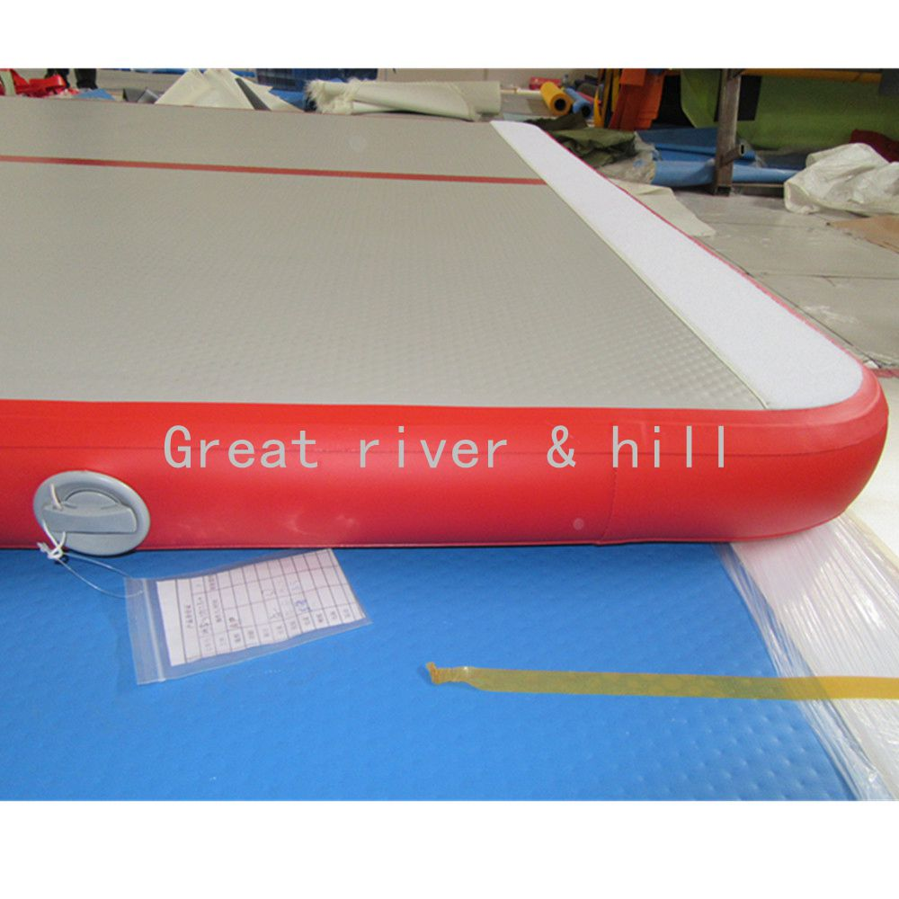Fedex Shipping Inflatable gym Mat,Inflatable Self Inflating Air Mat ,Inflatable Air Track 10m x 1m x 0.1m