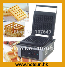 Commercial Non-stick 110V 220V Electric Belgian Liege Waffle Iron Baker Maker Machine