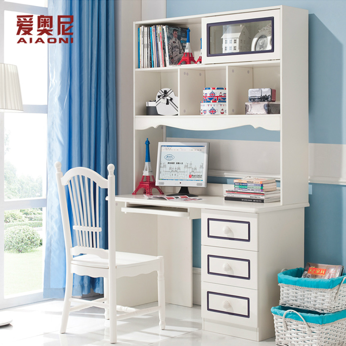 Love For Children S Furniture Desk Computer Study Table Rectangular With Bookshelves 8612 In Sets From On
